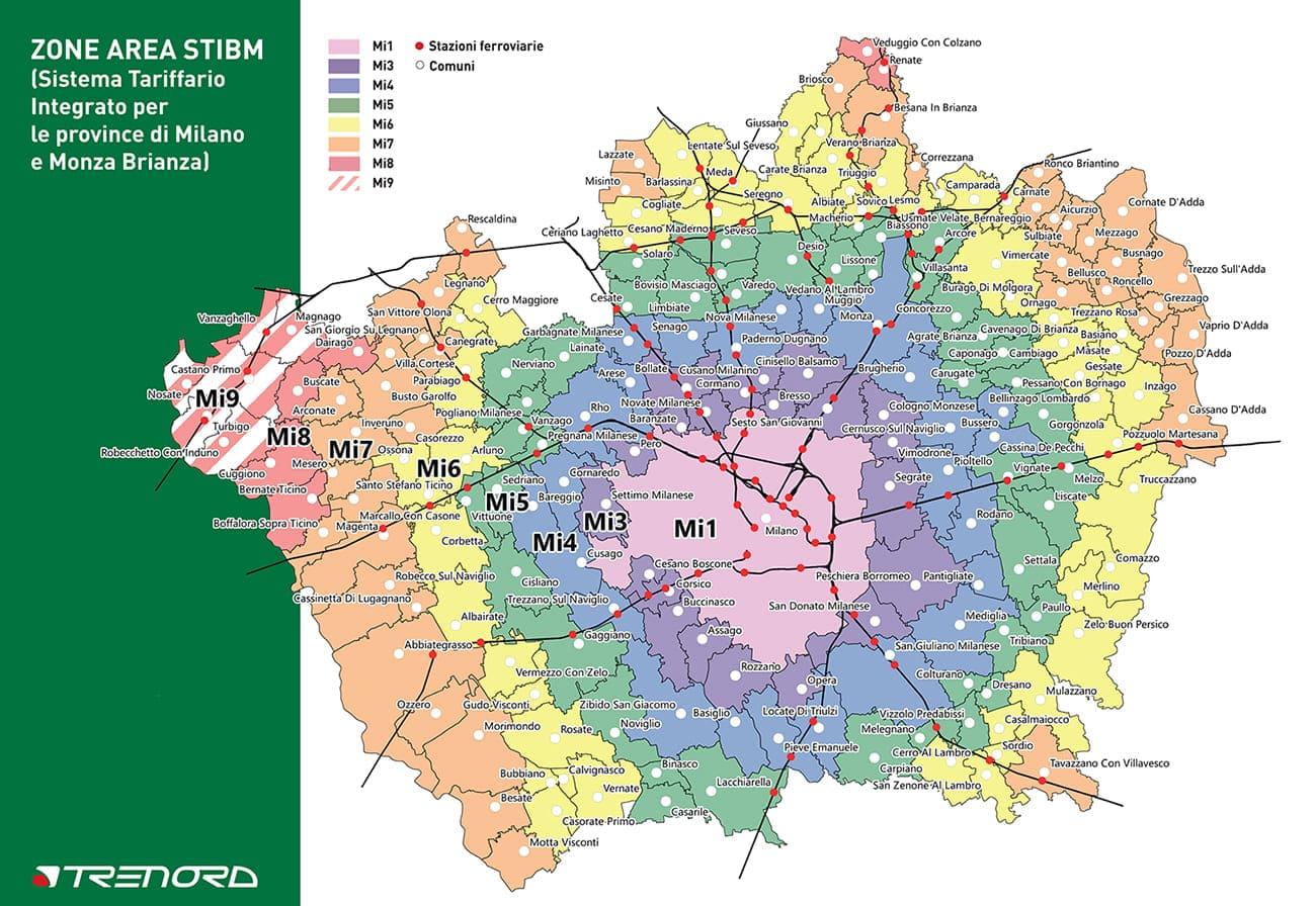 mappa STIBM