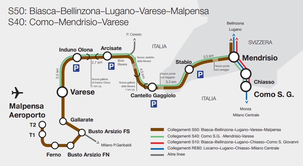 Mappa Biasca-Malpensa _aprile 2021