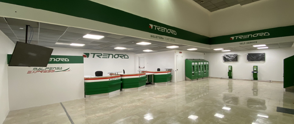 new ticket office in Milano Centrale