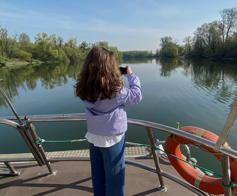 Sail on the Adda river