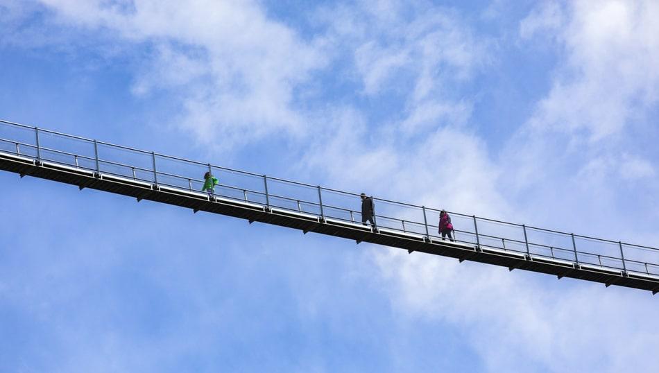 Gita in treno al Ponte Tibetano - Ponte nel Cielo