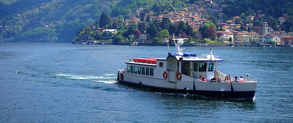 Trip out of town by train Treasures of Lake Como